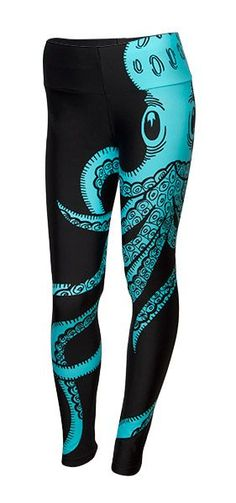 Octopus Leggings, oh i NEED these. im usually not one for the crazy leggings but my favorite color. i need these.