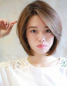 Hair Bangs Braid Ideas – – Erin S. Shot Hair Styles, Curly Hair Styles, Messy Bob Hairstyles, Asian Short Hairstyles, Hair Dos, Short Hair Cuts, Hair Lengths, New Hair, Hair Inspiration