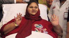 """Muere Eman Ahmed Abdul Atti, quien tuvo el récord de la """"mujer más pesada del mundo"""""""