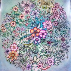 Johanna Basford | Colouring Gallery | By Julie Yates