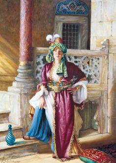 Oriental, Mediterranean Art, Bagdad, Turkish Art, Arabian Nights, Dance Art, Ottoman Empire, French Artists, Figure Drawing