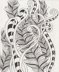 zentangles 7104 by banar, via Flickr