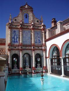 Palacio San Benito, a hotel north of Seville