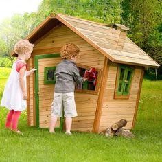 #Casita de #madera #infantil, perfecta para #jardín o cualquier tipo de…