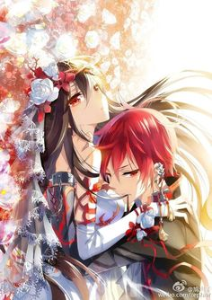 Ara x Elsword (Elsword) Couple Amour Anime, Couple Manga, Anime Love Couple, Cute Anime Couples, Manga Anime, Manga Art, Anime Guys, Manhwa, Image Manga