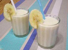 Смузи с бананом и йогуртом   Готовим рецепты