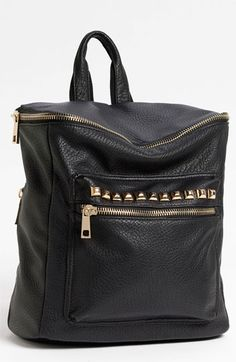 LOVE!! :-) So perfect!  BP. Studded Faux Leather Backpack available at #Nordstrom