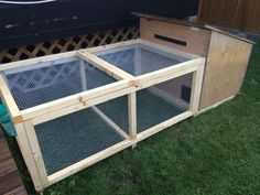 Quail Cage Idea