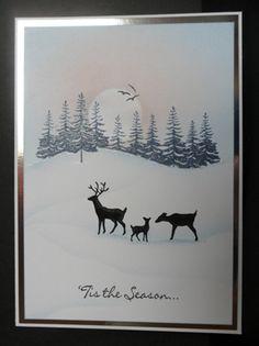 Winter Deer by: ChrisAndCat