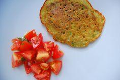 red lentil omelette / pancake