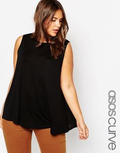 ASOS Curve | ASOS CURVE Girly Swing Top