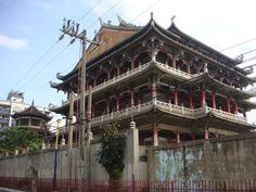 a century old Daoist temple in Manila, Philippines