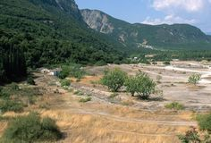 Ancient Battlefield of Thermopylae : During the long Greco-Persian War, Athens and Sparta teamed up to push back Persian invaders. The Spartans displayed their bravery and resolve in the Battle of Thermopylae in 480 B.C