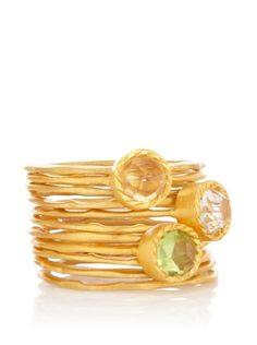 Kevia Set of 11 Stackable Rings.