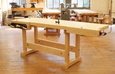 Master Cabinetmaker's Bench - The Woodworker's Shop - American Woodworker