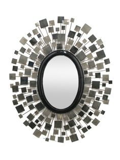 Three Hands Wall Mirror