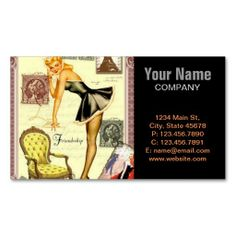 224 best pin up girl business cards images on pinterest business elegant nostalgia vintage pin up girl business card templates colourmoves