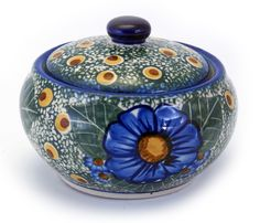 Round Covered Container (NP22) from The Polish Pottery Outlet