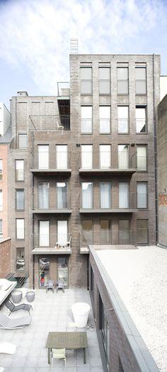 Apartment building in Antwerpen