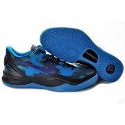 Nike Zoom Kobe VIII Mens Basketball Shoes Black Purple Royal $88.90 http://www.blackgoto.com/nike+zoom/