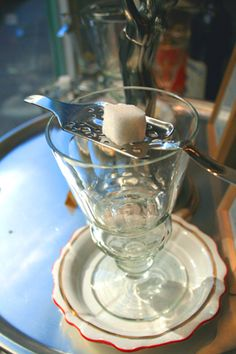 Vert d'Absinthe in Paris - A shop dedicated to absinthe, selling over 25 different types of this beguiling spirit!