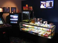 Home Theater Concession Stand - bar inspiration - if you are going to have a theater room this is a must