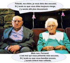 Papy et mamie..
