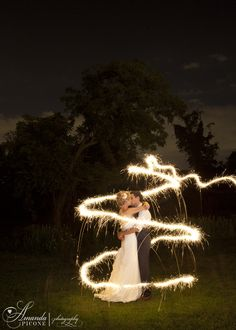 Bippity boppity boo! Cinderella inspired sparkler wedding photo with the bride and groom, after summer wedding and sparkler exit. New Jersey and New York wedding photographer.