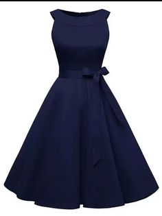 Robe Pin-up Vintage Ceinturée Robe Vintage Broted Swing Pinup Pin Up Dresses, Pretty Dresses, Beautiful Dresses, Short Dresses, Fashion Dresses, Prom Dresses, Sleeveless Dresses, Belted Dress, Robes Pin Up