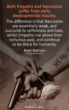 Both Empaths And Narcissists Suffer From Early Developmental Trauma Narcissistic People, Narcissistic Behavior, Narcissistic Abuse Recovery, Narcissistic Personality Disorder, Narcissistic Sociopath, Empath Traits, Intuitive Empath, Trauma, Ptsd