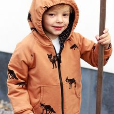 Hoodie in 'Foxes', Chat Chocolat, made by Foxes, Rain Jacket, Windbreaker, Curvy, Hoodies, Jackets, Fashion, Chocolates, Cat Breeds