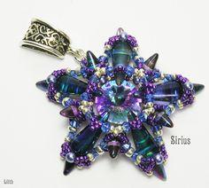 Genius Sirius pendant by Lilith Schaetze