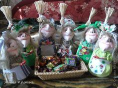 Куклы Мастер-класс Оберег Шитьё МК по созданию Ёжки Капрон Клей фото 1