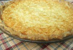 Catering by Debbi Covington's Coconut Pie Recipe www/cateringbydebbicovington.com