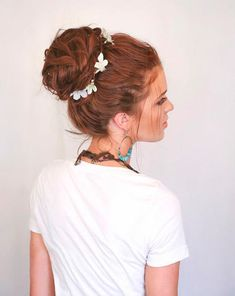 Boho Chic Updos For a Cute Makeover #Updoairstyles