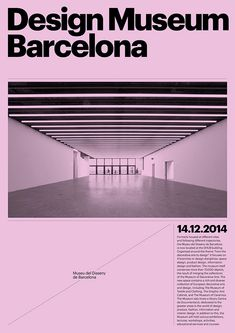 Design by Atlas, Visual identity for the new Barcelona Design Museum