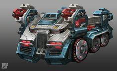 Ultra Magnus - vehicle mode, James Daly on ArtStation at http://www.artstation.com/artwork/ultra-magnus-vehicle-mode