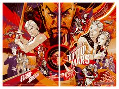 Flash Gordon : Martin Ansin, Illustrator | Illustration Portfolio