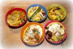 Paleo ægge muffins. Super grab and go mad.