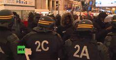 """An einem Bahnhof in Paris kam es zu Auseinandersetzungen zwischen der Polizei und Schwarzen, die anlässlich des Todes eines schwarzen Drogendealers gegen vermeintliche Polizeigewalt demonstrieren wollten, wie """"RT Deutsch""""berichtet. Ursache des Protestes war der Tod des Kameruners Massar D., der..."""