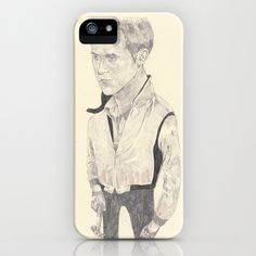 Ryan Gosling iPhone Case by Withapencilinhand - $35.00