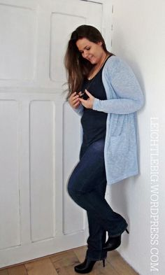 Plus Size Styling Blue All Over
