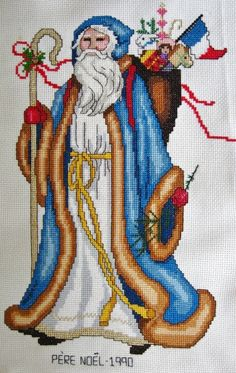 The French Santa - Pere Noel.  Completed in 1990