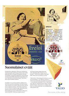 Valio - Valion tuotteet 1950-luvulla