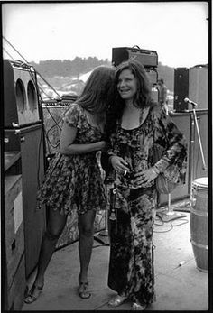 Peggy Caserta  and Janis Joplin's - lesbian lovers circa late 60's