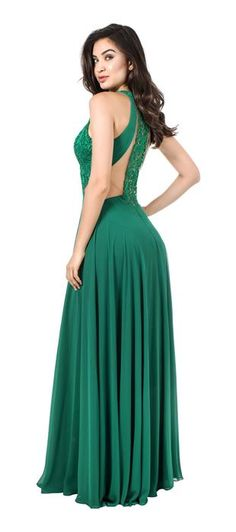 Como usar vestido de renda verde
