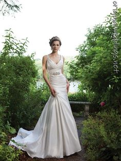2Be Bride satin gown. Love.