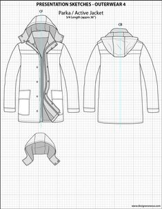 Mens Illustrator Flat Fashion Sketch Templates - Presentation Sketches Outerwear - 1045+ mix & match Menswear design templates only $39.95! #menswear #mensfashion #flatsketches #fashionflats #fashionsketches #fashiontemplates #fashionCADs #fashionpresentation