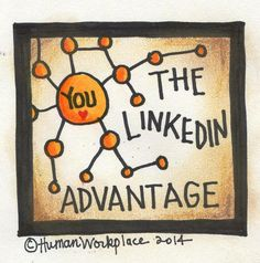 the linkedin advantage square badge for course catalog