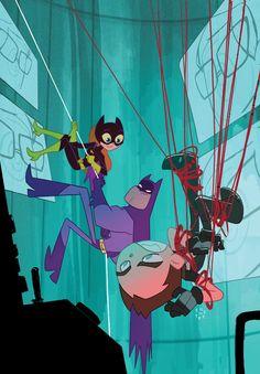 GRAYSON #10 Teen Titans Go! Variant Cover